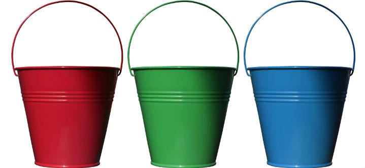 3 bucket method