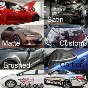 Different types of wrap