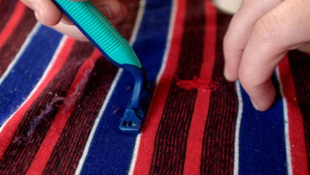 De-pilling fabric