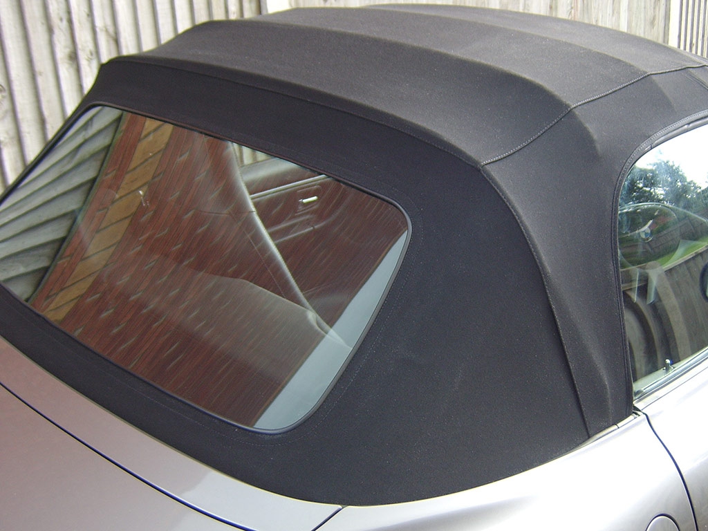 Polishing Rear Softtop Window Detailingwiki The Free