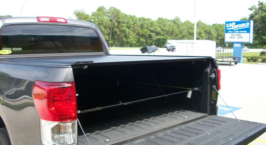 Car Wash Tonneau Cover